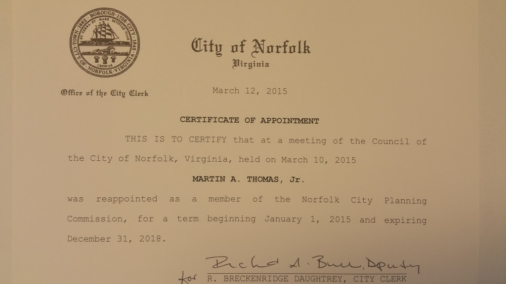 Norfolk City Planning Commission